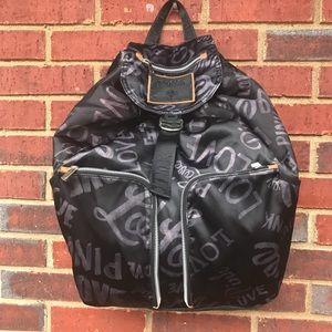 Victoria's Secret PINK black backpack